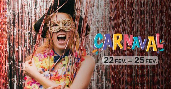 Já preparou a máscara para brincar ao Carnaval?