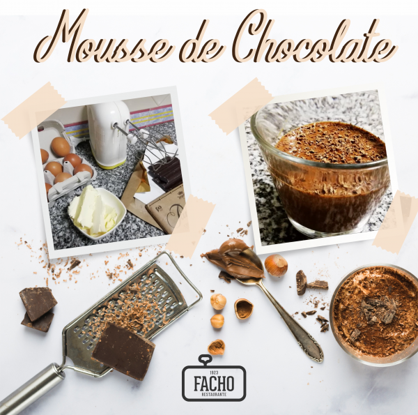 Mousse de Chocolate do Facho