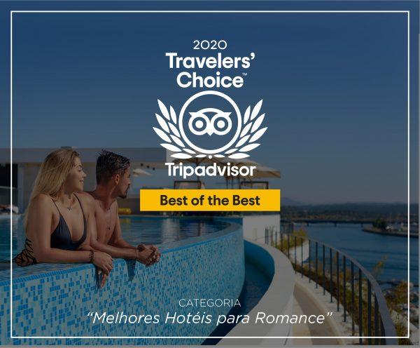 """Jupiter Marina Hotel reconhecido como um dos """"Melhores Hotéis para Romance"""" pelo Tripadvisor"""